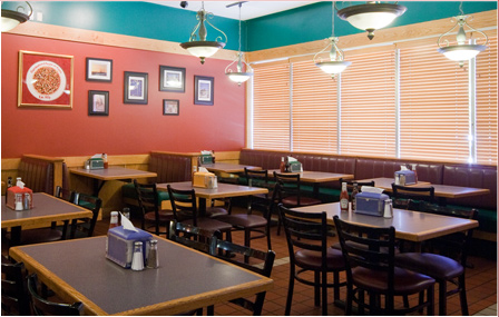 View images of Cumberland House of Pizza's dining room